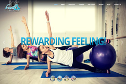 Idilio Studio - Works, Portfolio, Websites, Body Breath Trainers