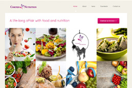 Idilio Studio - Works, Portfolio, Websites, Cortesi Nutrition