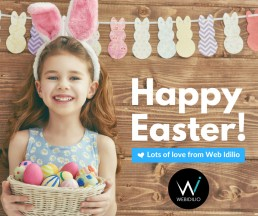 Web Idilio - Happy Easter 2017