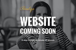 Idilio Studio - Works, Portfolio, Landing Pages, Penelope Magoulianiti - Coming Soon