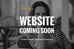 Idilio Studio - Works, Portfolio, Landing Pages, Penelope Magoulianiti - Coming Soon