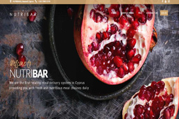 Idilio Studio - Works, Portfolio, Websites, NutriBar