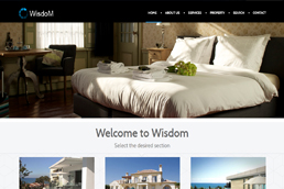 Idilio Studio - Works, Portfolio, Websites, Wisdom Real Estate