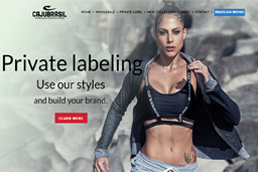 Idilio Studio - Works, Portfolio, Websites, Brazilian Fashion Fitness