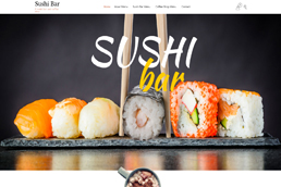 Idilio Studio - Works, Portfolio, Websites, Sushi Bar